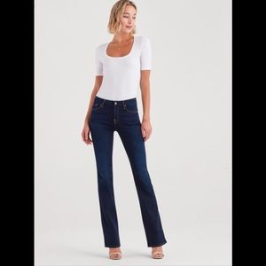 """7 For All Mankind """"A"""" pocket bootcut jean"""